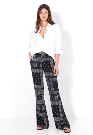 Pantaloni - black/ecru