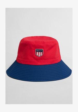 RETRO SHIELD BUCKET - Hat - bright red