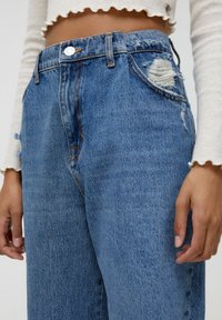 PULL&BEAR - Relaxed fit jeans - blue - 3