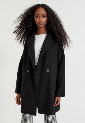 MIT FALLENDEN ÄRMELN - Classic coat - black