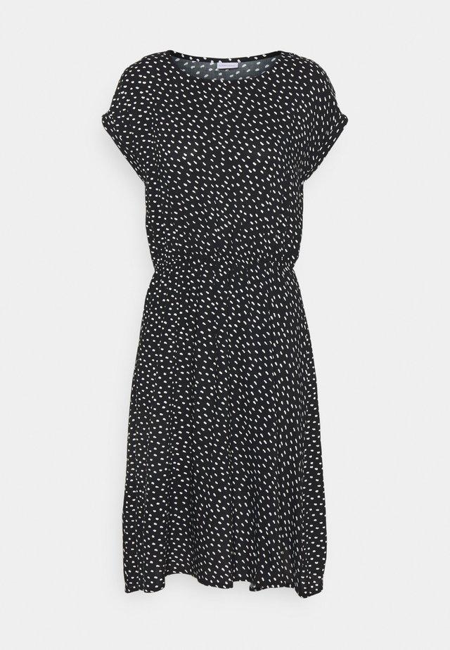 Denní šaty - schwarz/weiss