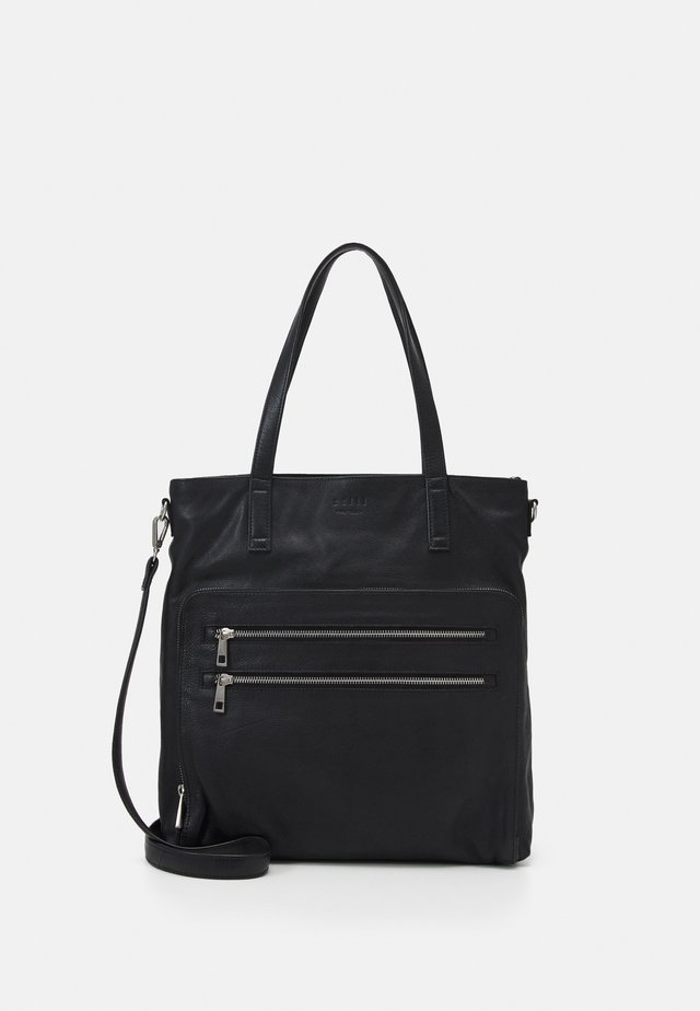 MARY SHOPPER - Shopping bag - black