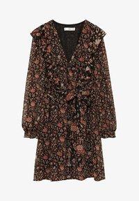 Mango - WINTER - Korte jurk - schwarz - 5