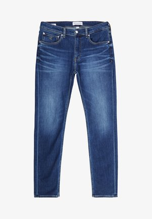 Slim fit jeans -  visual blue brushed