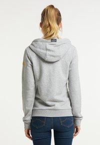 Schmuddelwedda - Zip-up sweatshirt - hellgrau melange - 2