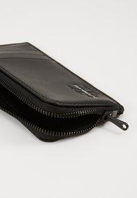 Calvin Klein Jeans - CARDCASE COIN - Punge - black - 2