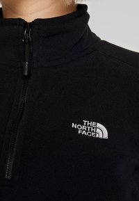 The North Face - WOMENS 100 GLACIER 1/4 ZIP - Fleecetrøjer - black - 5
