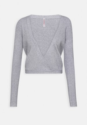 WRAP - Treningsjakke - light grey