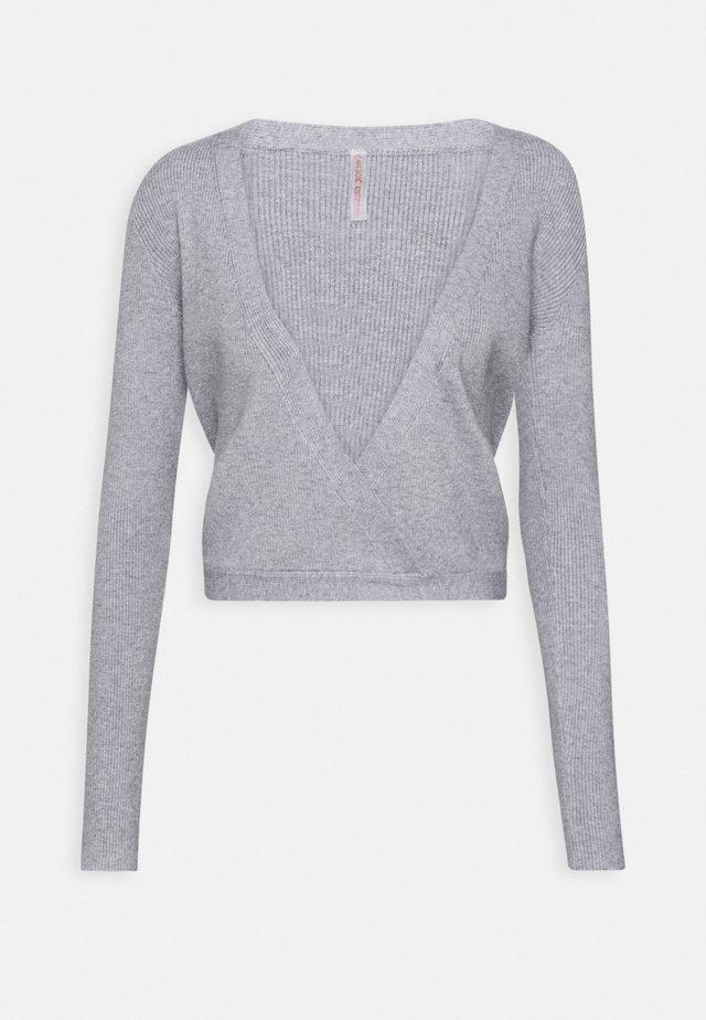 WRAP - Sportovní bunda - light grey