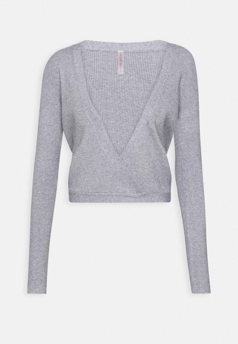Capezio - WRAP - Training jacket - light grey