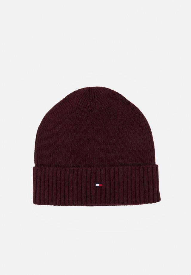 PIMA COTTON BEANIE - Čepice - red