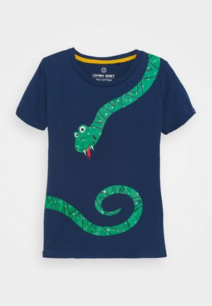 SMALL BOYS  - Print T-shirt - estate blue