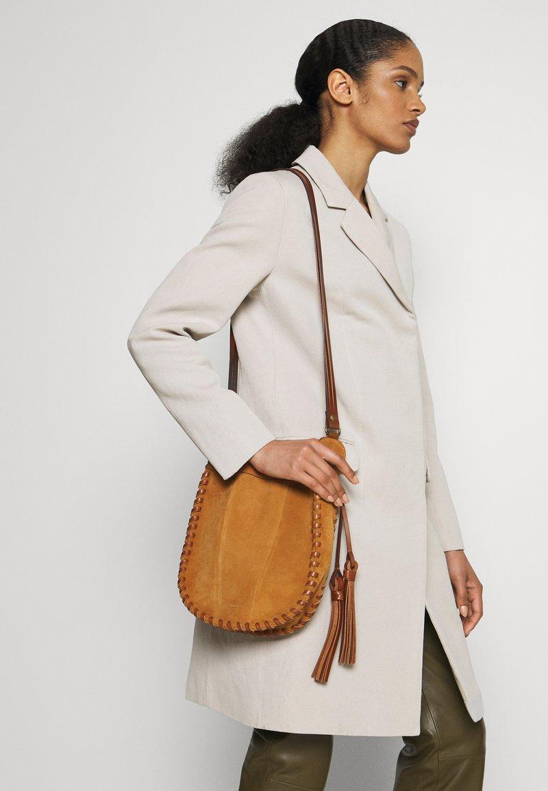 CLOSED - LUCIA - Across body bag - bamboo