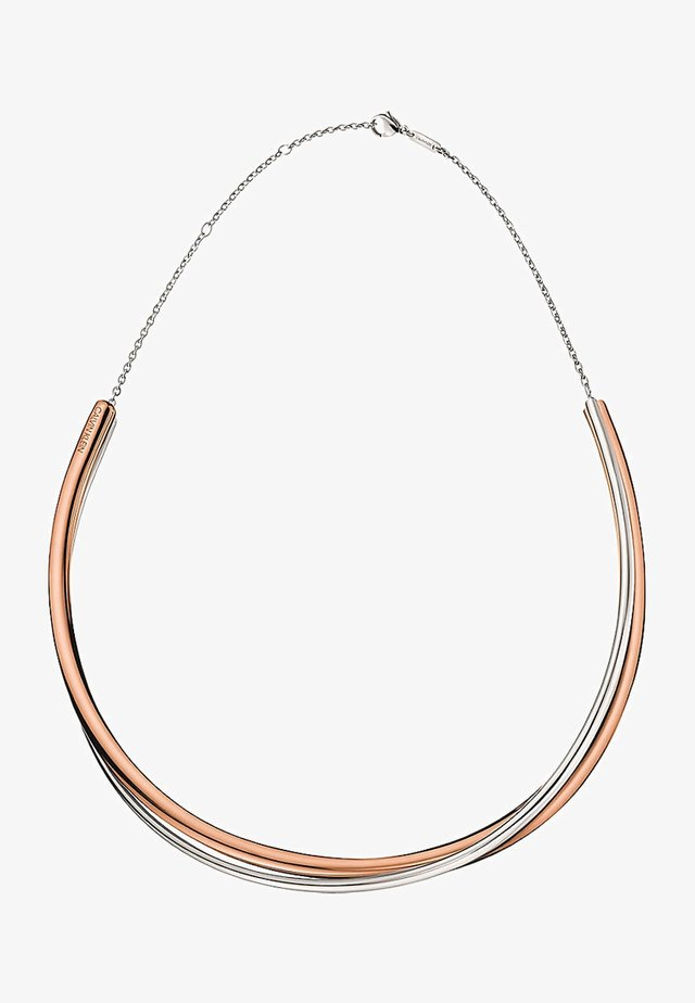 DOUBLE  - Necklace - bi-coloured