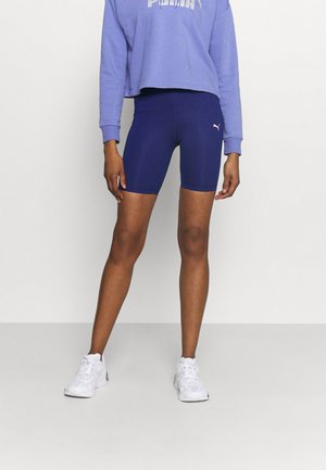 TRAIN FAVORITE BIKER SHORT - Medias - elektro blue