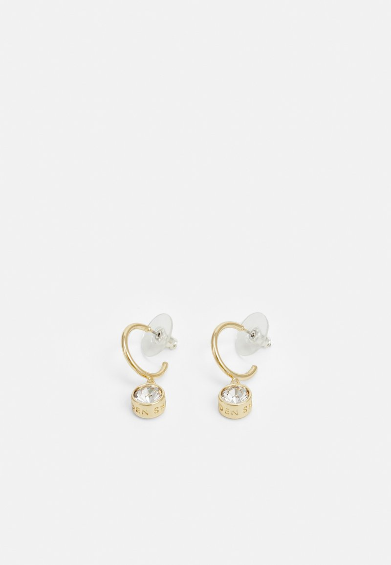 SNÖ of Sweden - CLAIRE STONE PENDANT EAR - Earrings - gold-coloured/clear