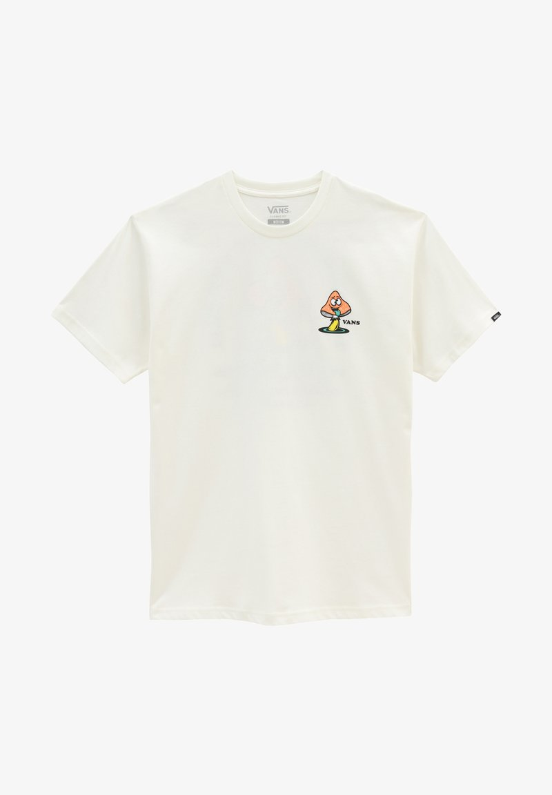 Vans - MN FUN GUY SS - Print T-shirt - marshmallow