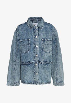 ENBASH - Kurtka jeansowa - acid blue