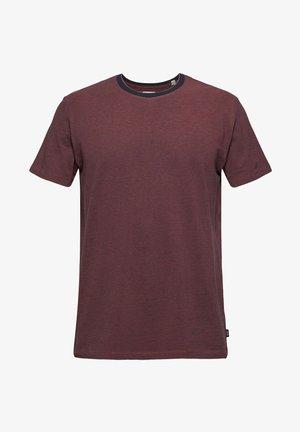 T-shirt basique - berry red