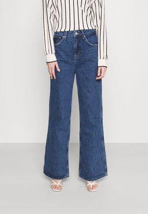 PUDDLE - Straight leg jeans - dark vintage