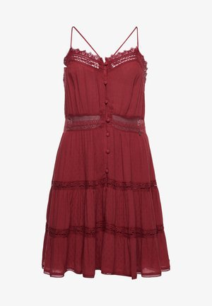 ALANA - Day dress - canyon rust