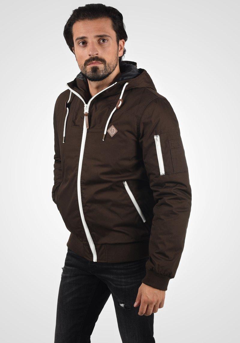 Solid - TILLY - Light jacket - dark brown
