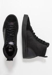 Diesel - S-DVELOWS MID - Sneakers high - black - 1
