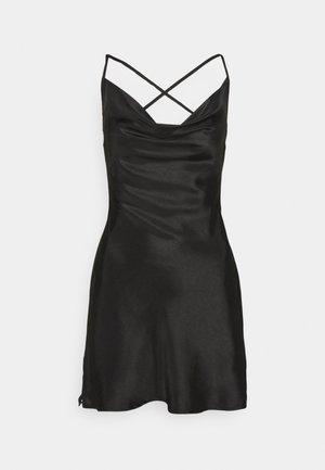 COWL CAMI DRESS - Cocktail dress / Party dress - black