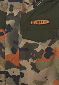 Burton - DUGOUT CAMO - Kurtka snowboardowa - kelp birch - 2