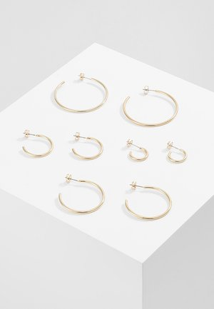 ONLPAXA HOOP 4 PACK - Earrings - gold-coloured