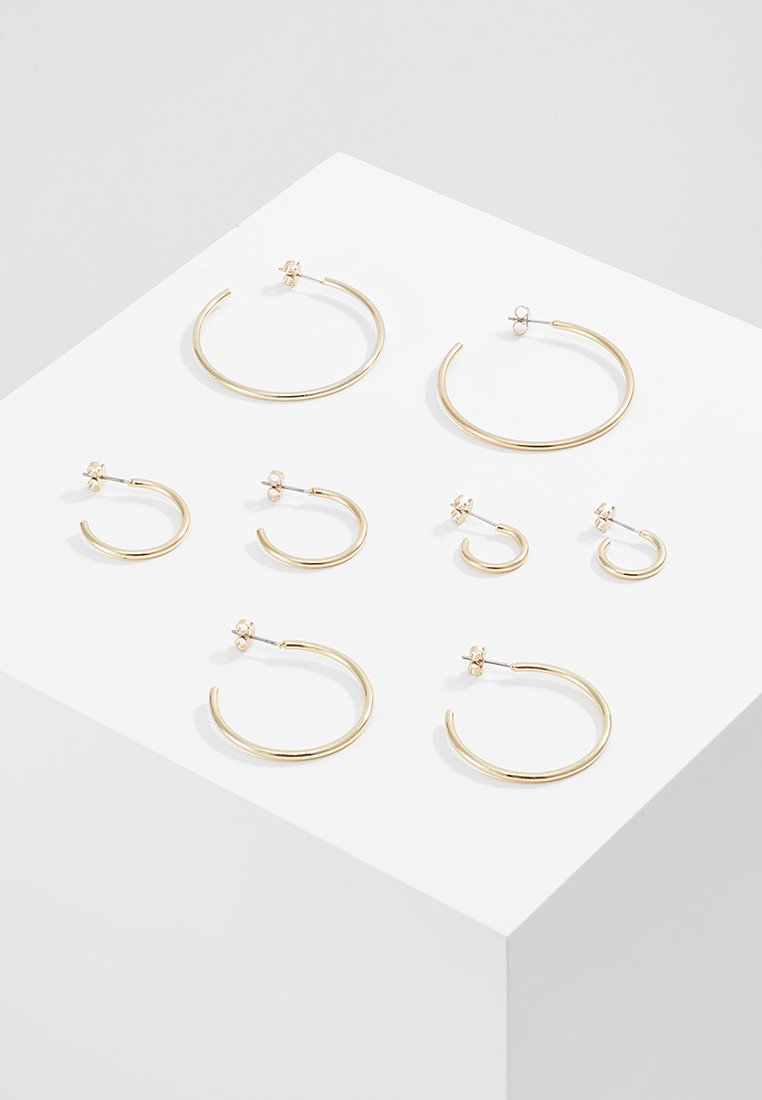 ONLY - ONLPAXA HOOP 4 PACK - Earrings - gold-coloured