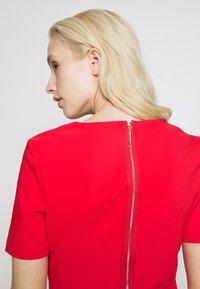 HUGO - NAREI - Jersey dress - red - 5