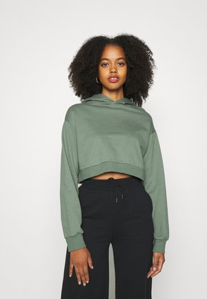 Bluza z kapturem - green