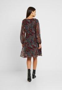 Wallis Petite - PATCHWORK DITZY DRESS - Sukienka letnia - black - 3