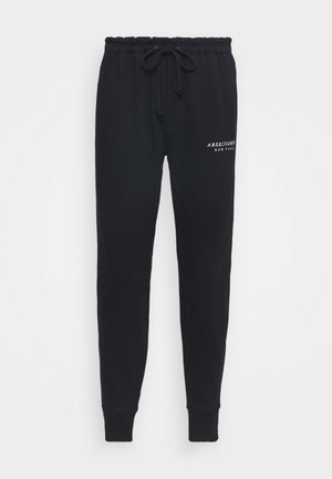 TREND LOGO WAISTED  - Tracksuit bottoms - black