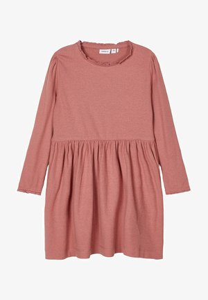 Jumper dress - withered rose