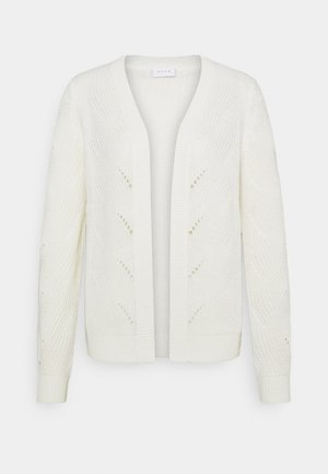 VIENIA CARDIGAN - Cardigan - white alyssum