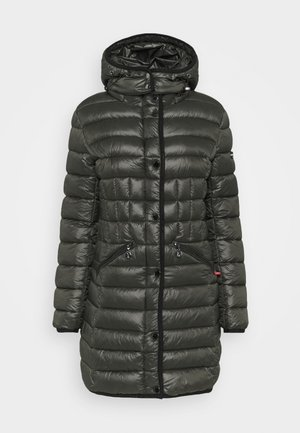 Winter coat - black olive