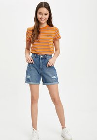 DeFacto - DEFACTO  WOMAN - Denim shorts - blue - 1