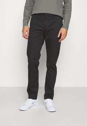 STUART REGULAR - Trousers - anthracite