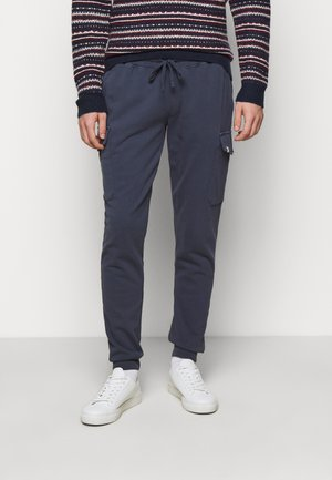 CARGO JOGGER - Tracksuit bottoms - mid blue