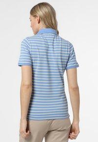 Franco Callegari - Polo shirt - blau gelb - 1