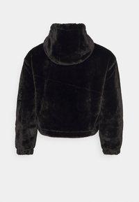 Missguided Plus - HOODED JACKET - Winter jacket - black - 1