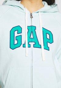 GAP - Sudadera con cremallera - azul - 5