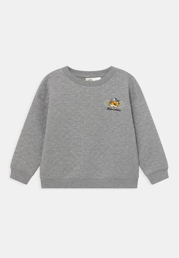 MINI QUILT - Langærmede T-shirts - grey melange