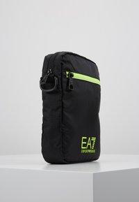EA7 Emporio Armani - Bandolera - black / neon / yellow - 3