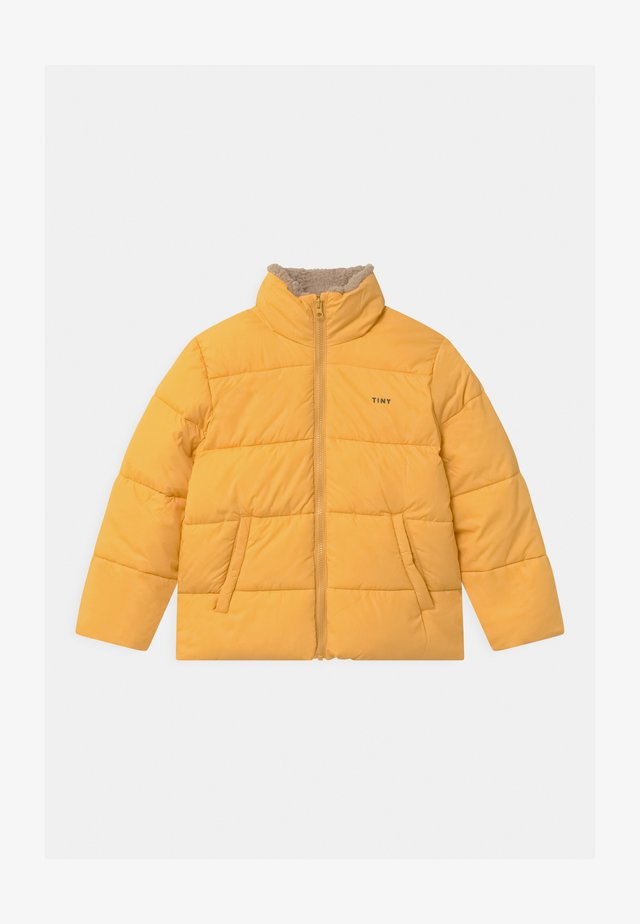 SOLID PADDED UNISEX - Winter jacket - yellow