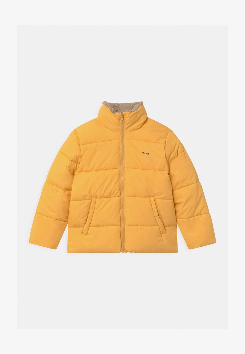 TINYCOTTONS - SOLID PADDED UNISEX - Winter jacket - yellow
