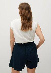 Violeta by Mango - RINGO - Shorts - dunkles marineblau - 2