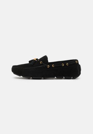 LEATHER - Moccasins - black
